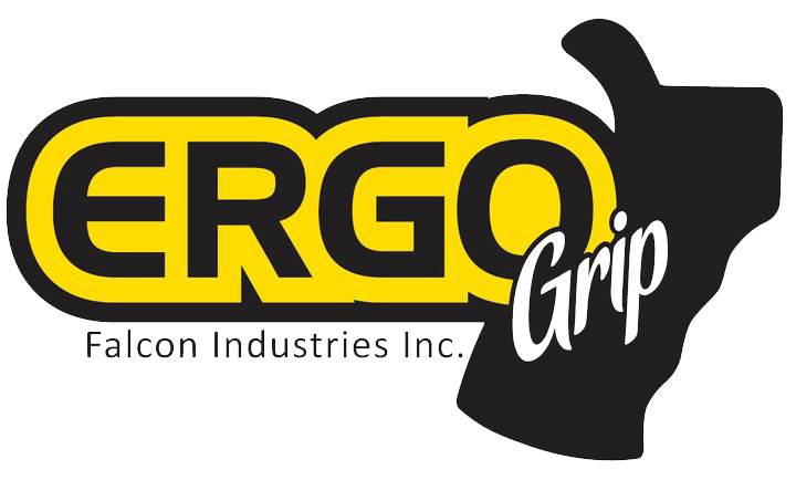 Ergo Grip Falcon Industries Logo